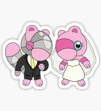 Bride & Groom Mushi Sticker