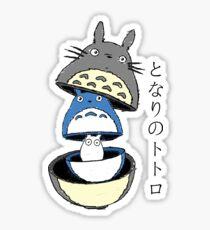 Totoro russian doll Sticker