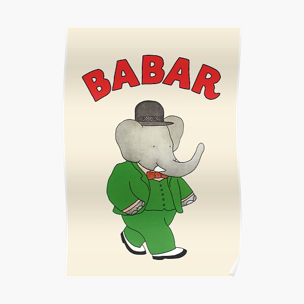 Babar l'éléphant Poster