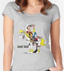 luckyluke Women's Fitted Scoop T-Shirt