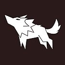 Wolf Vector Silhouette by zachsymartsy