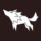 Wolf Vector Silhouette by zachsymartsy