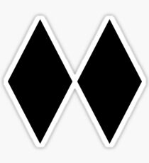 DOUBLE BLACK DIAMOND SKIING SKI EXPERT ONLY Sticker