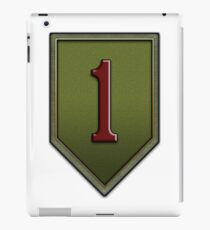 1st Infantry Division Logo - United States Army iPad Case/Skin