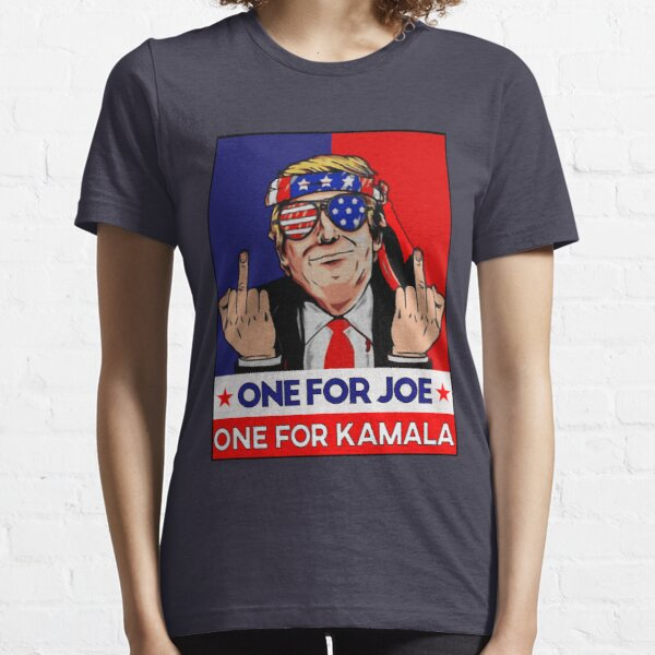 donald trump funny impeachment political Funny Joe Biden anti biden harris retro 2021 Essential T-Shirt