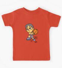 Basketball cartoon art Kids Clothes