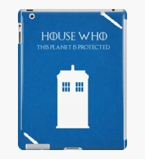 House Who iPad Case/Skin