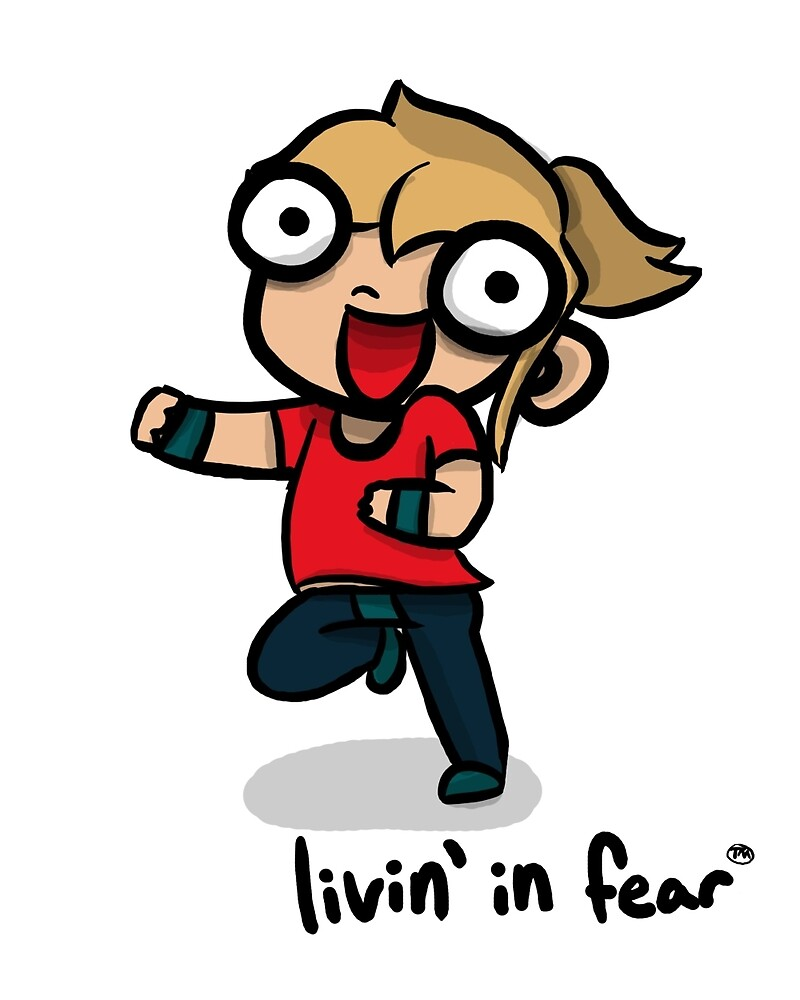 """Livin' in Fear"" by Hannah Hoffman 