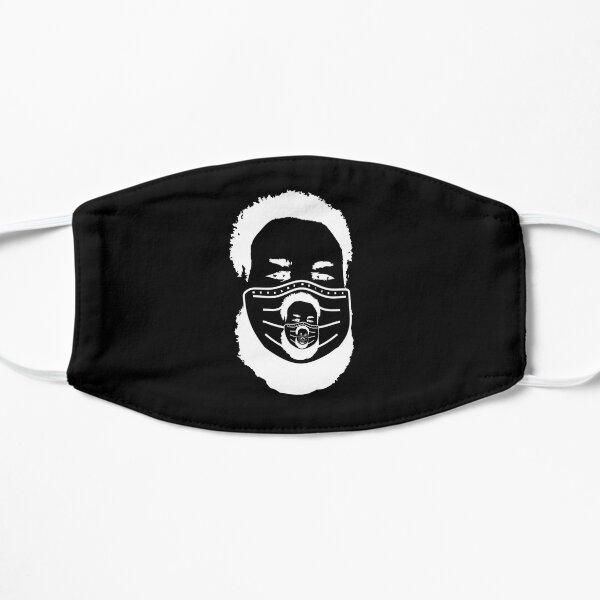 NilesFaceMaskImageMaskOfFace-blackback Flat Mask