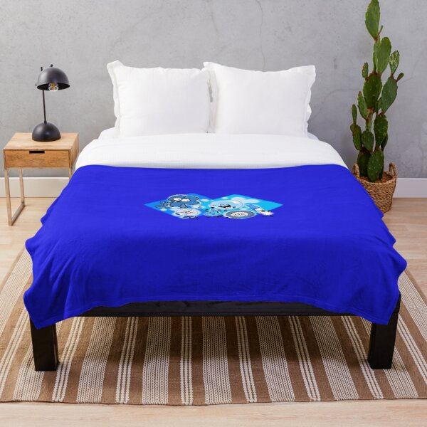 BFDI True Blue Friends Characters Throw Blanket