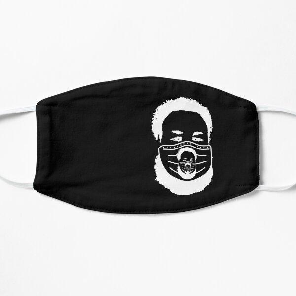 NilesFaceMaskImageMaskOfFace-blackback-OffsetRight Flat Mask