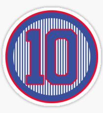 Northside 10 Baseball Shirt Sticker