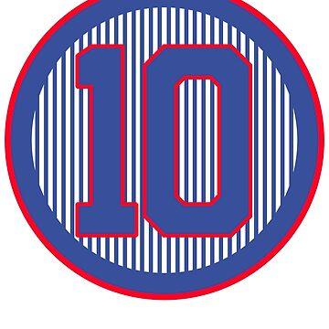 Northside 10 Baseball Shirt by ridethewave