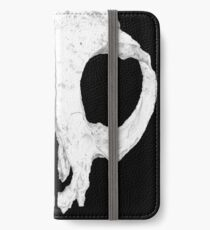 Frank Skull, Dark Alternate Detail Version iPhone Wallet/Case/Skin