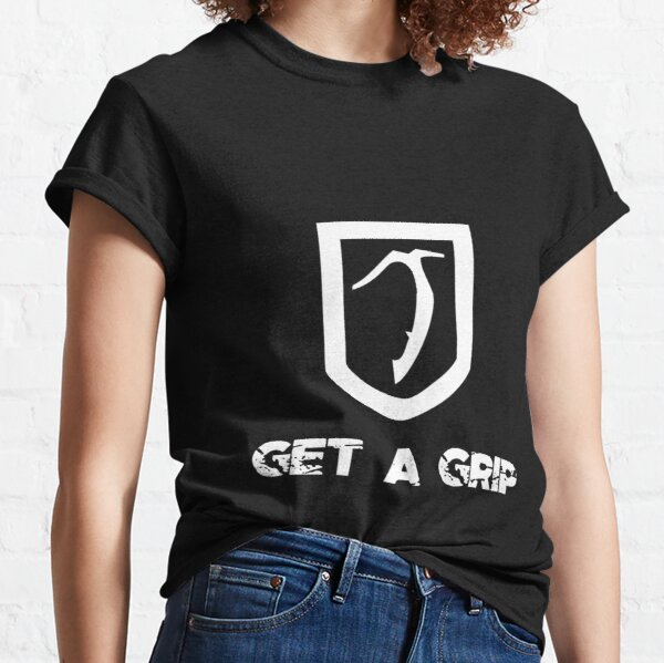 Inverted Get A Grip Axe Classic T-Shirt