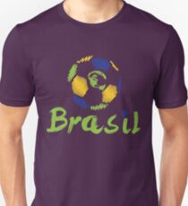 Brazilian soccer football Unisex T-Shirt