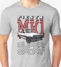Ford Fiesta Super-Sport Classic Car T-shirts T-Shirt