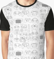 Joypad Pattern Graphic T-Shirt