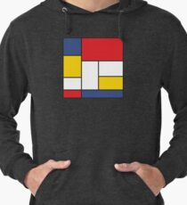 In the Style of Mondrian Lightweight Hoodie