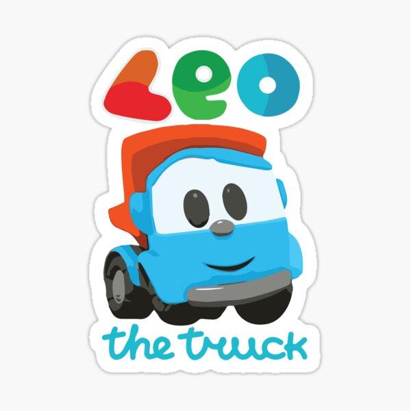 leo the truck Sticker