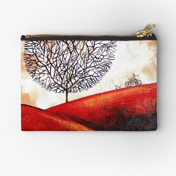 Bicycle Ride Zipper Pouch