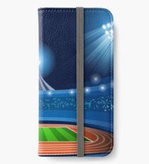 Stadium Background 2016 Summer Games iPhone Wallet