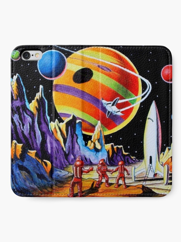 Alternate view of NEW WORLDS iPhone Wallet