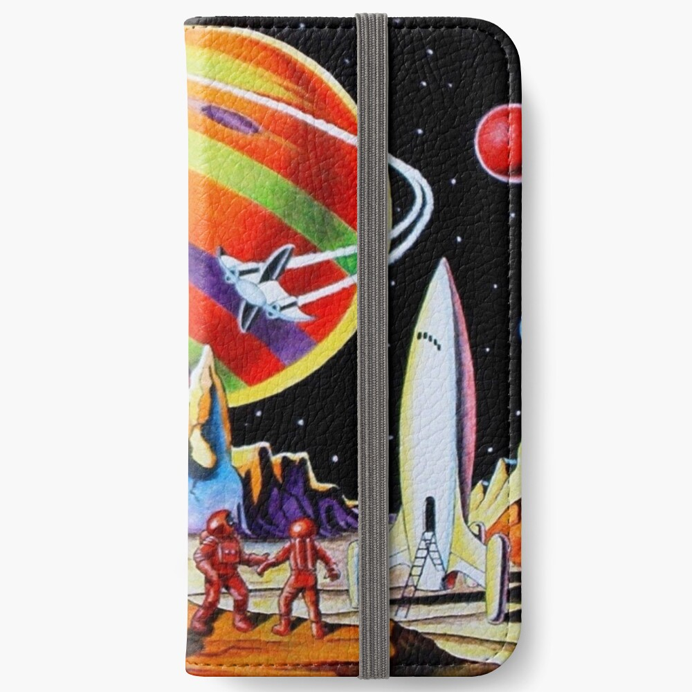NEW WORLDS iPhone Wallet