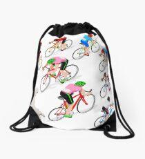 Cyclists Giro Italia Drawstring Bag