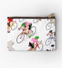 Cyclists Giro Italia Studio Pouch