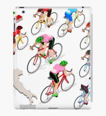 Cyclists Giro Italia iPad Case/Skin