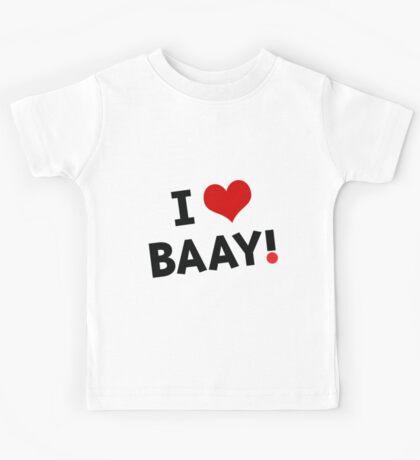 I LOVE BAAY (Black) Kids Clothes