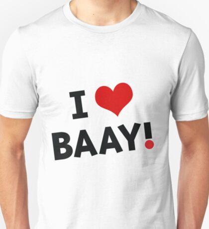 I LOVE BAAY (Black) T-Shirt