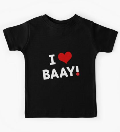 I LOVE BAAY (White) Kids Clothes