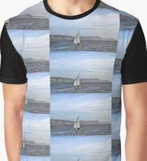 Into The Blue..........Lyme Dorset UK Graphic T-Shirt