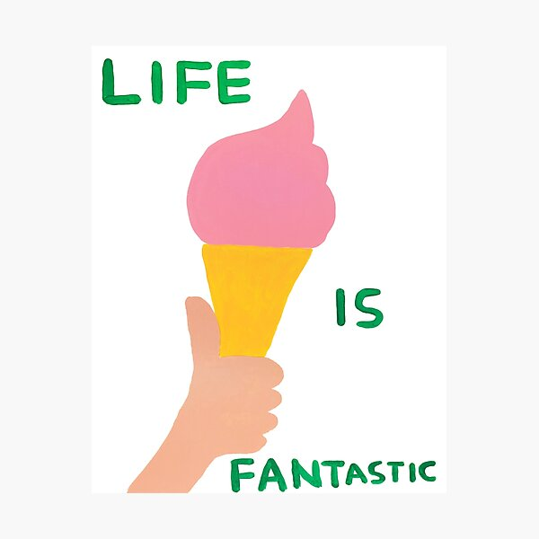 Life is Fantastic Photographic Print