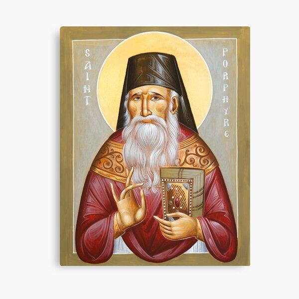 St Porphyrios of Kavsokalyvia Canvas Print
