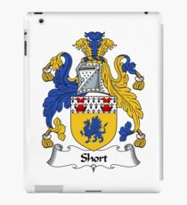 Short Coat of Arms / Short Family Crest iPad Case/Skin