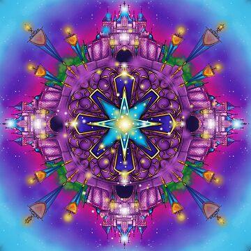 Magical Kaleidoscope Design  by samskyler