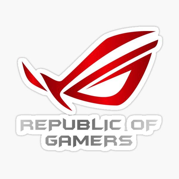 Asus Republic of Gamers Sticker