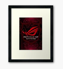 Asus Republic of Gamers Framed Print