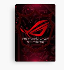 Asus Republic of Gamers Canvas Print