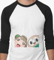 Kotori and Rowlet cornerface T-Shirt