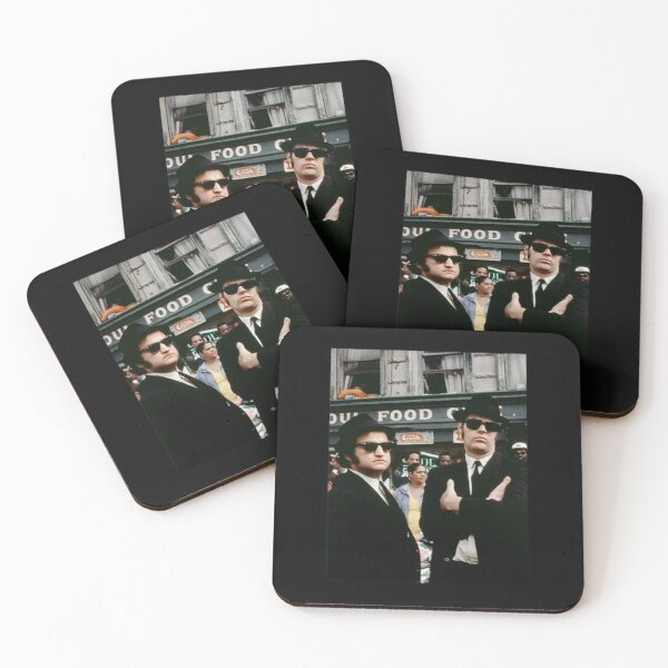 The Blues Brothers Coasters (Set of 4)