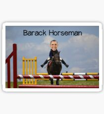 Barack Horseman Sticker