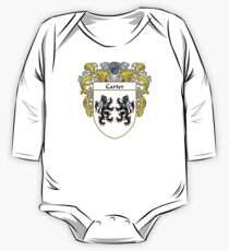 Carter Coat of Arms/Family Crest One Piece - Long Sleeve