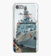 German Navy Frigate 'Karlsruhe' - Bremerhaven iPhone Case/Skin