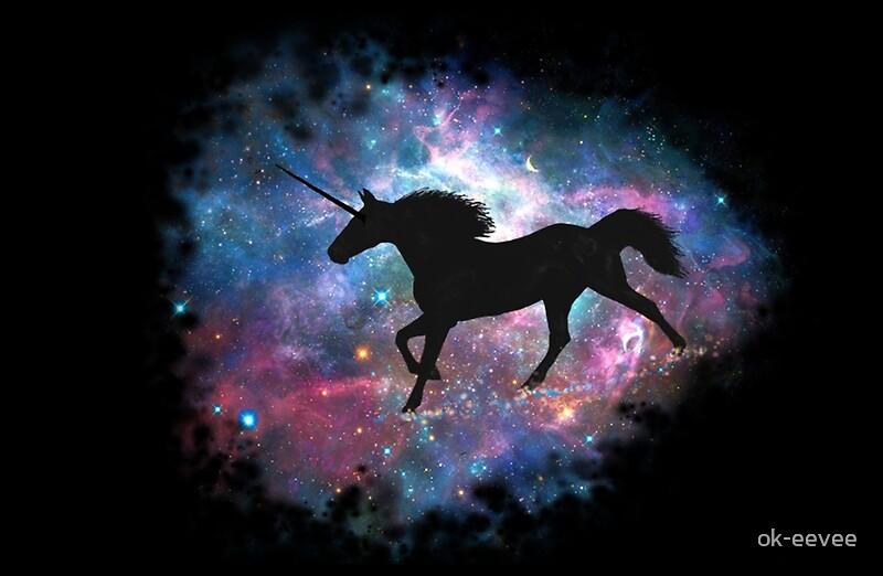 Galaxy Unicorn Laptop Skins By Ok Eevee Redbubble