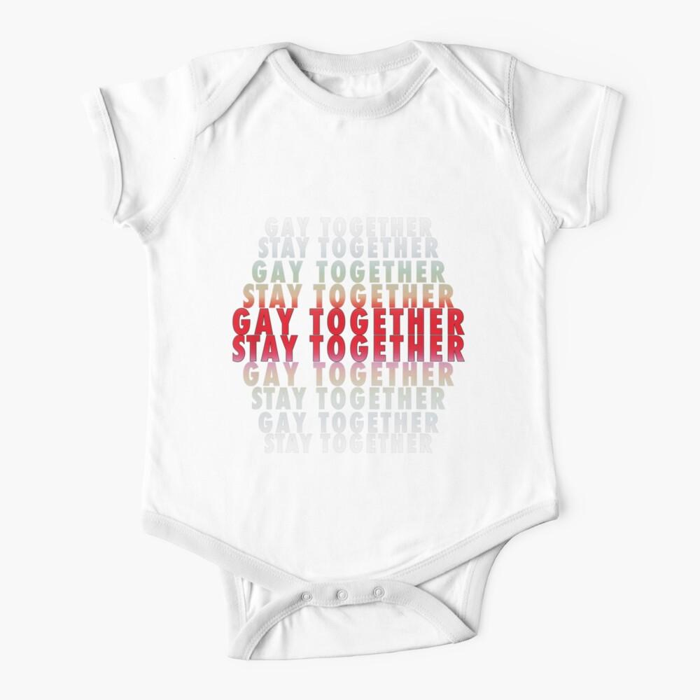 LGBT Homosexuell zusammen bleiben zusammen Baby Body