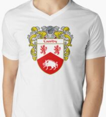 Cassidy Coat of Arms/Family Crest Men's V-Neck T-Shirt